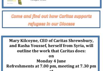 Caritas Shrewsbury: Refugee Poster