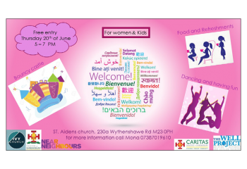 An Event for Women and Kids…